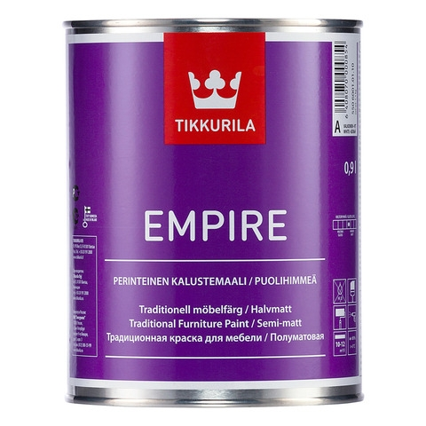Tikkurila Empire Краска для мебели 0.9л база C - фото - 1